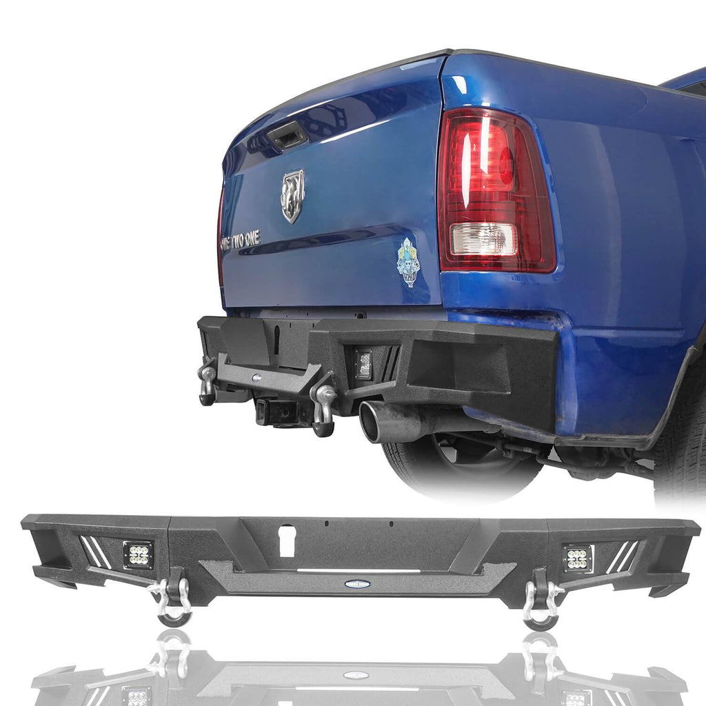Front Bumper, Rear Bumper, Bed Rack Roll Bar(09-18 Dodge Ram)