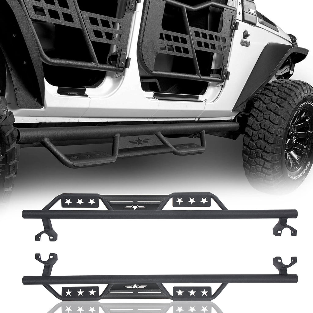 Front Bumper, Rear Bumper, Side Steps(07-18 Jeep Wrangler JK)