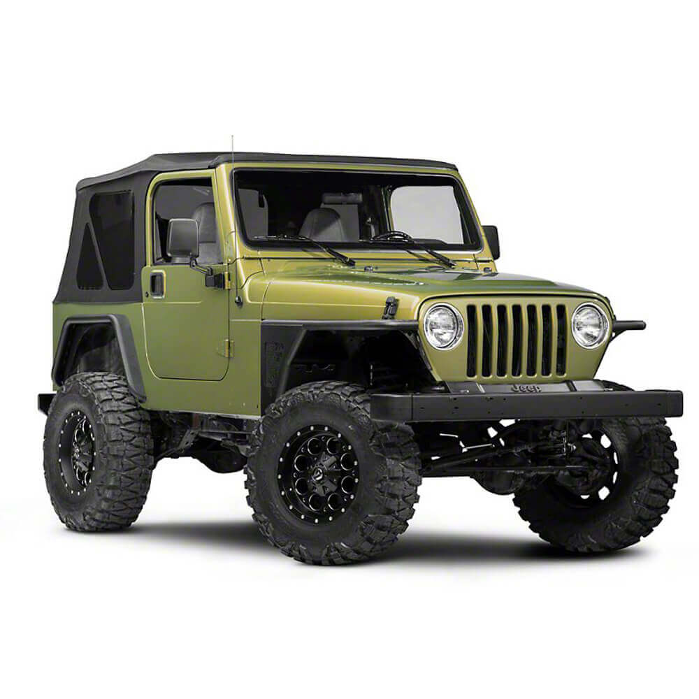 Jeep TJ Front Fender Flares Armor Wheel Fenders for 1997-2006 Jeep Wrangler TJ bxg058 2