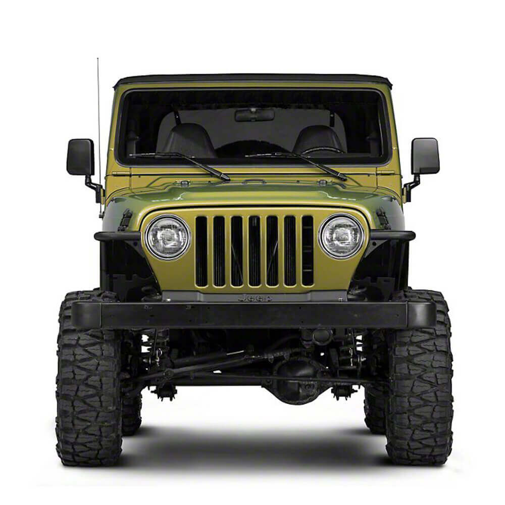 Jeep TJ Front Fender Flares Armor Wheel Fenders for 1997-2006 Jeep Wrangler TJ bxg058 3