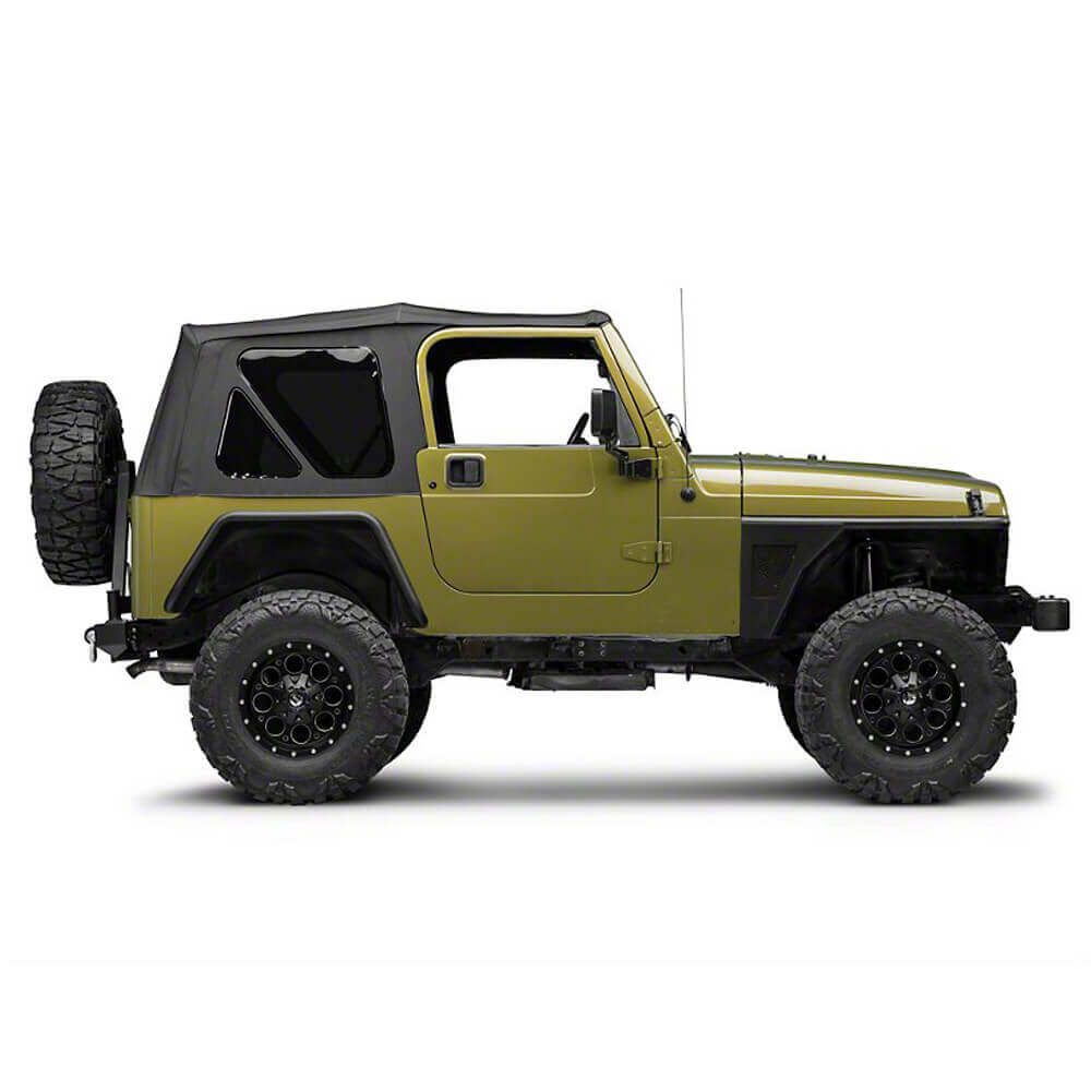 Jeep TJ Front Fender Flares Armor Wheel Fenders for 1997-2006 Jeep Wrangler TJ bxg058 4