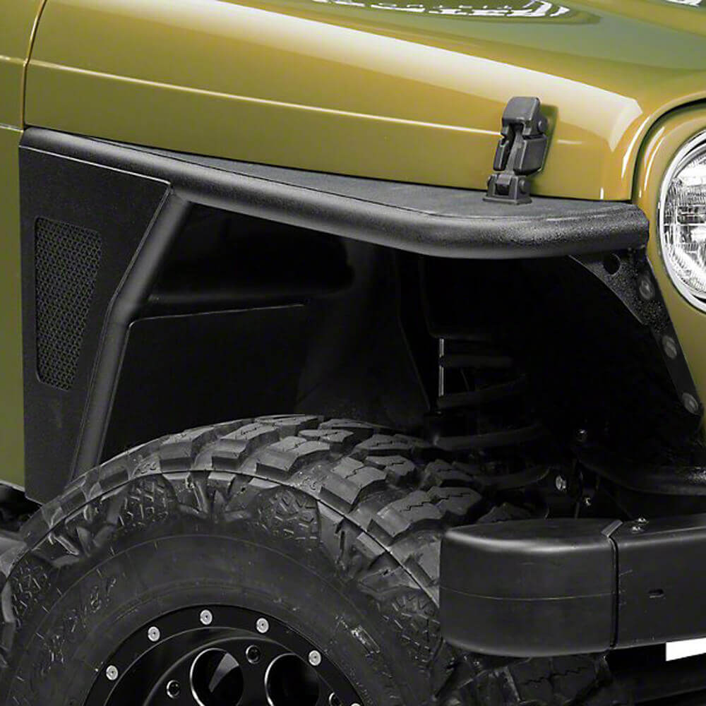 Jeep TJ Front Fender Flares Armor Wheel Fenders for 1997-2006 Jeep Wrangler TJ bxg058 5