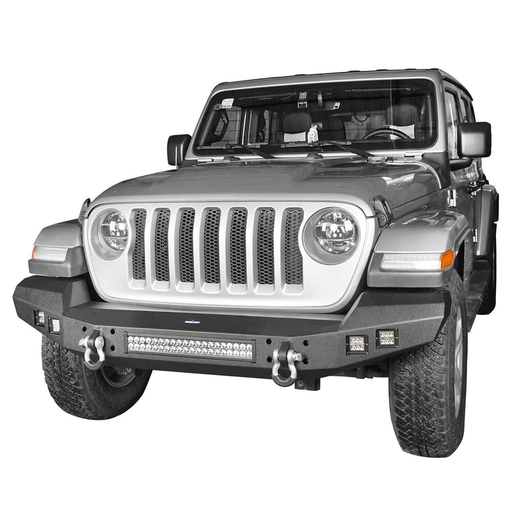 Ultralisk 4x4 Full Width Climber Front Bumper(20-21 Jeep Gladiator)