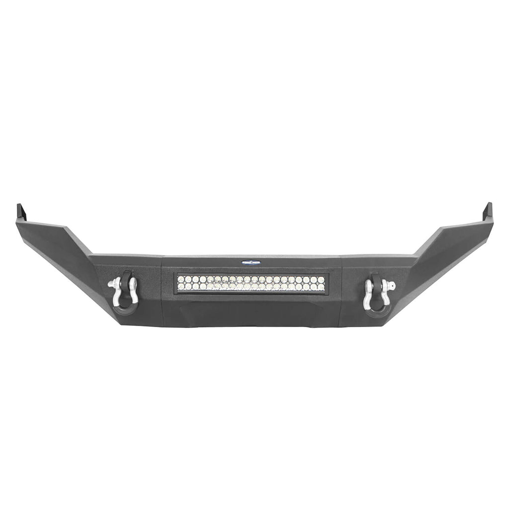 Full Width Front Bumper, Rear Bumper, MAX 13.8 Inch High Bed Rack(13-18 Dodge Ram)
