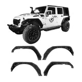 Flux Tubular Fender Flares For Jeep Wrangler JK 2007-2018 Jeep JK Parts BXG089 1