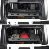 Jeep JK Interior Cargo Rack 4 Doors Jeep Wrangler Rear Cargo Rack for Jeep Wrangler JK JKU 2007-2018 BXG009 4