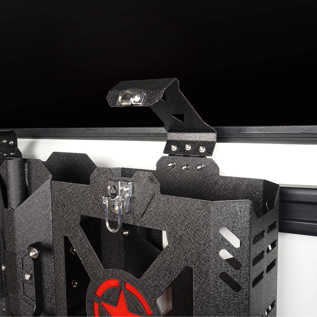 Jeep JK Jerry Gas Can Holder w/Tailgate Mount for 2007-2018 Jeep Wrangler JK bxg005 4