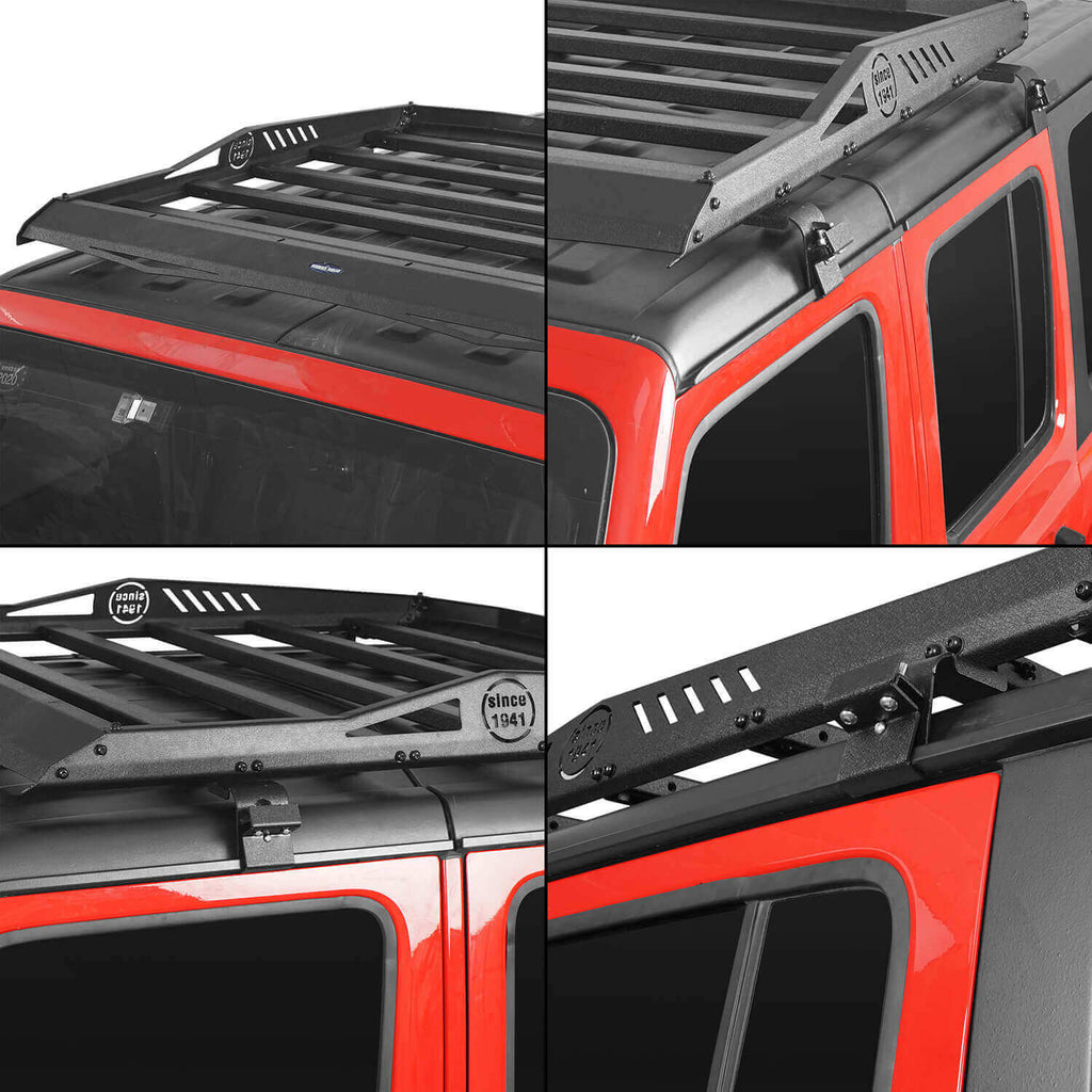 Ultralisk 4x4 4-Door Hard Top Roof Rack & Tubular Half Doors(20-21 Jeep Gladiator)