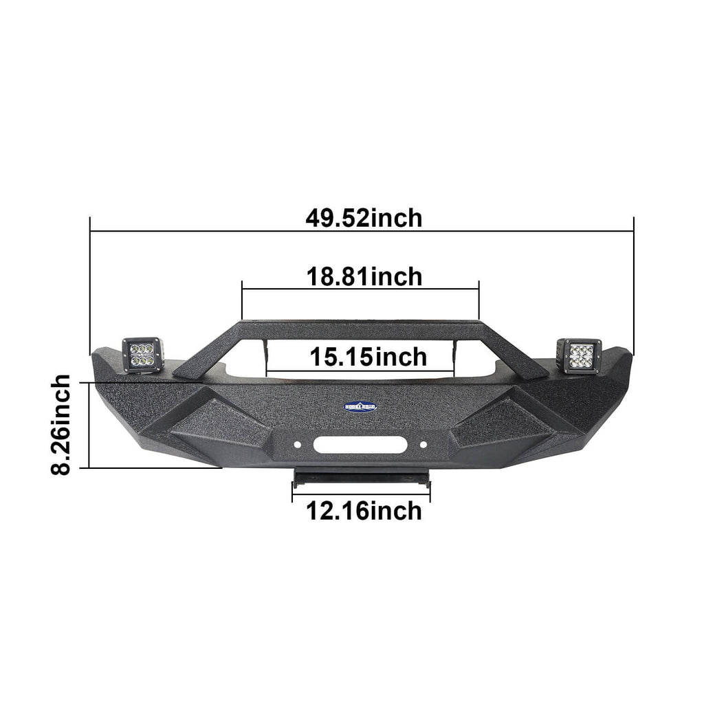 Jeep JT Front Bumper Blade Master Bumper for 2020 Jeep Gladiator BXG506 10