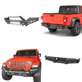 Jeep JT Front Bumper & Rear Bumper Back Bumper for 2020 Jeep Gladiator JT bxg30137003 1