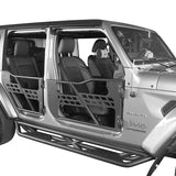 Ultralisk 4x4 Side Steps & Tubular Half Doors(20-21 Jeep Gladiator JT 4-Door)