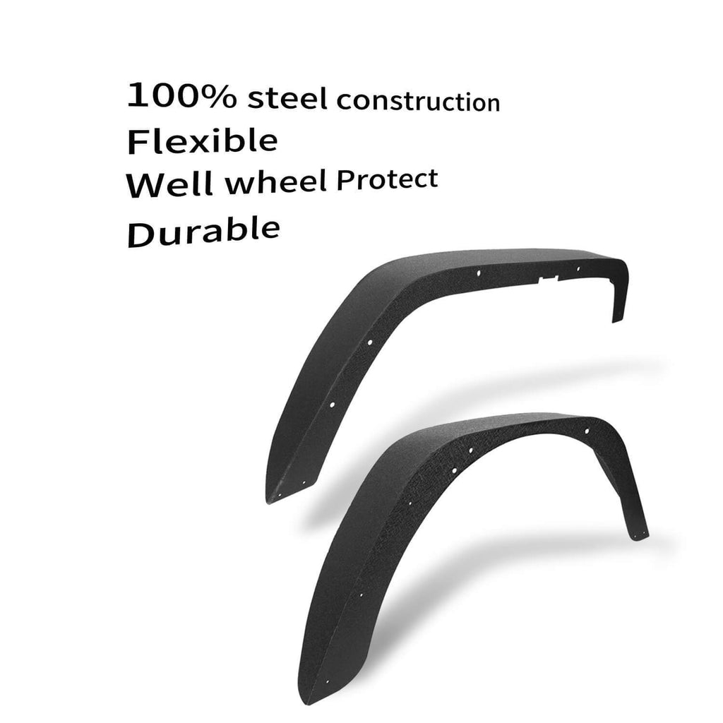 Jeep TJ Fender Flares for Jeep Wrangler TJ 1997-2006 BXG056 Jeep Wrangler TJ Parts   7