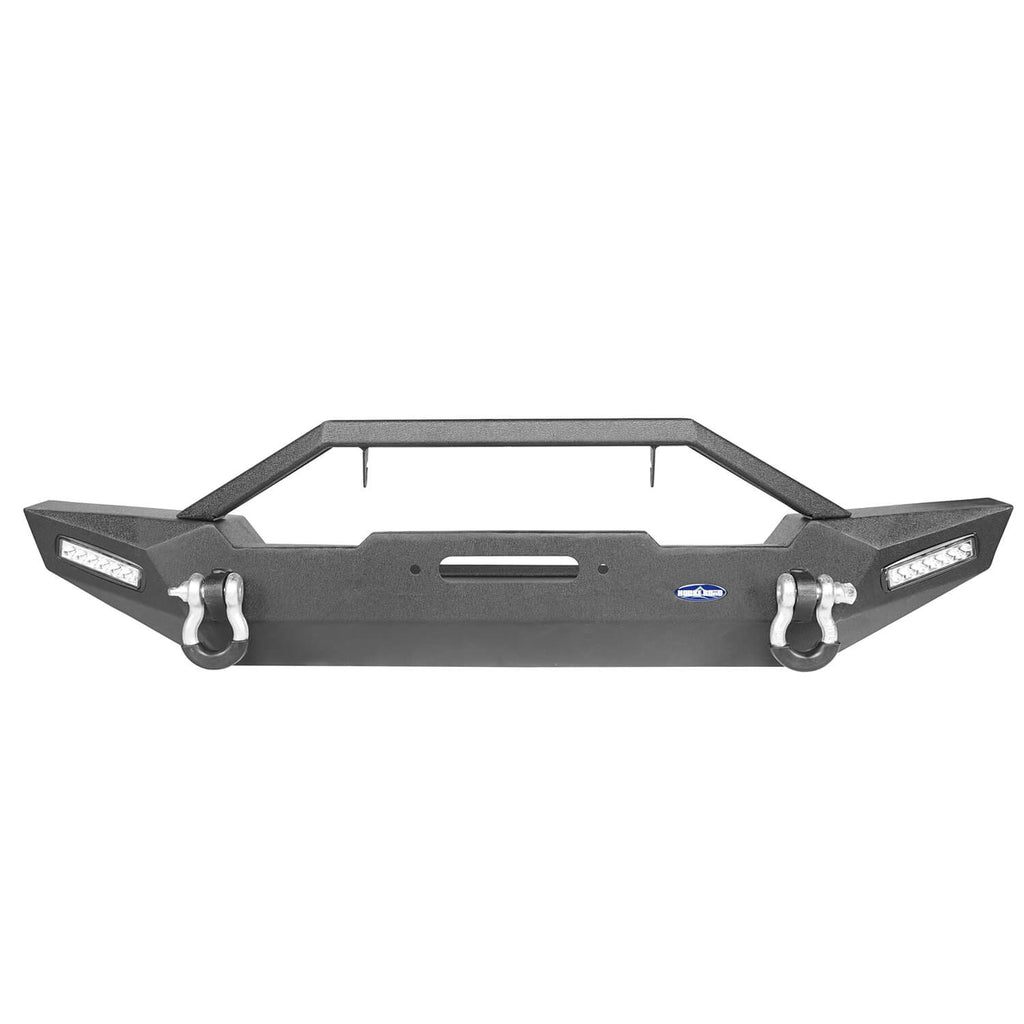 Jeep TJ Front and Rear Bumper Combo with Tire Carrier Blade Master Front Bumper and Explorer Rear Bumper for Jeep Wrangler YJ TJ 1987-2006 BXG130145 Jeep TJ Front and Rear Bumper Combo u-Box Offroad 6