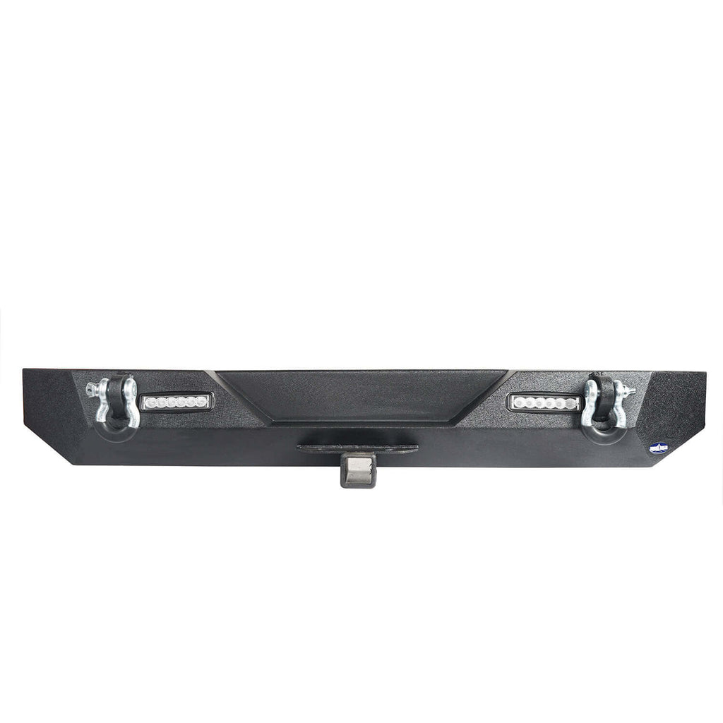"Different Trail Rear Bumper w/2"" Hitch Receiver for Jeep Wrangler TJ YJ 1987-2006 BXG120 7"