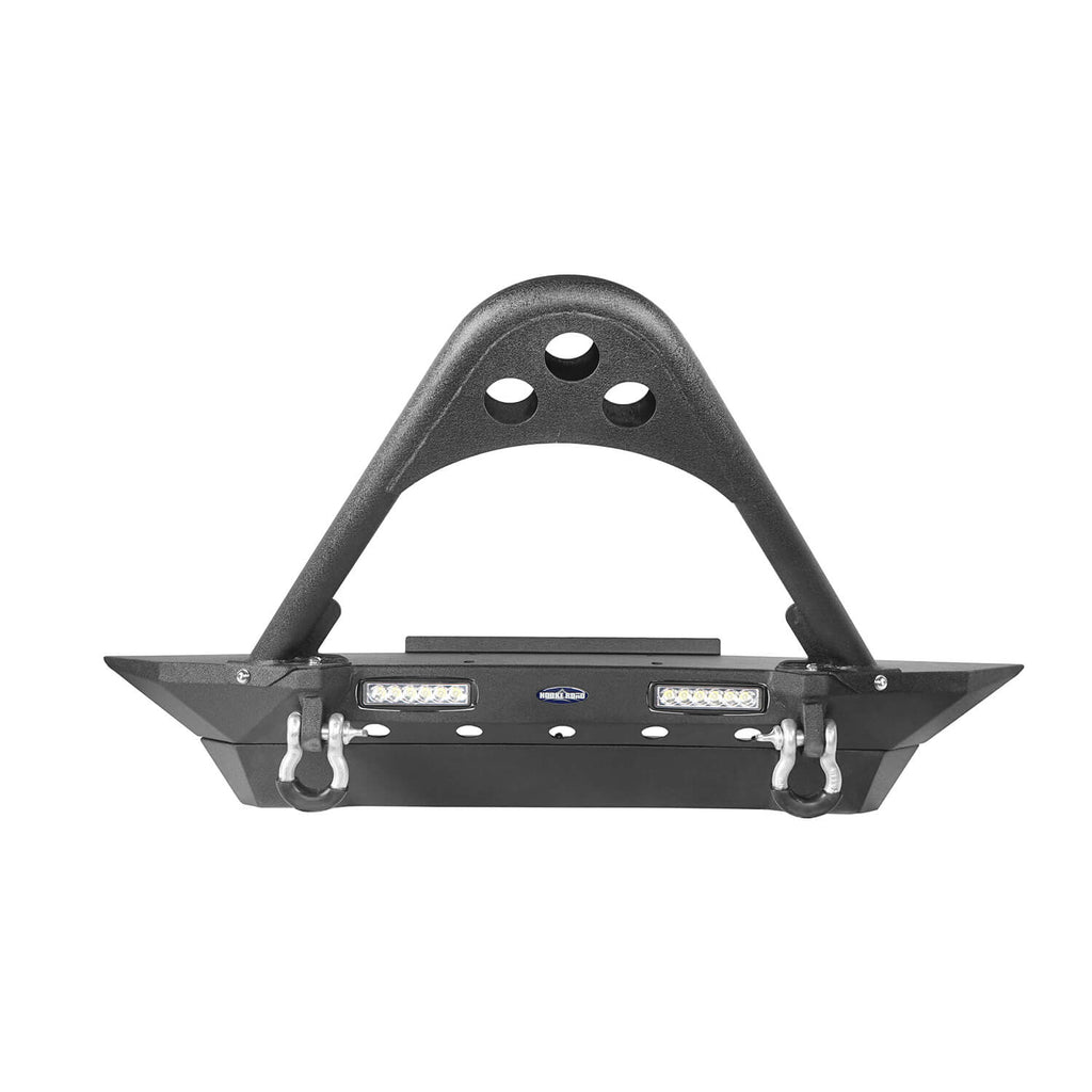 Jeep TJ Stinger Front Bumper and Different Trail Rear Bumper Combo for Jeep Wrangler TJ YJ 1987-2006 BXG152120 Jeep TJ Front and Rear Bumper Combo u-Box Offroad 6