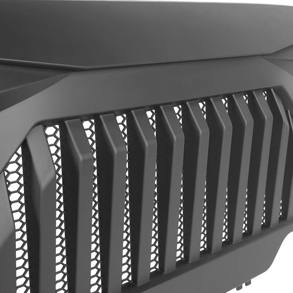 Jeep Grille Cover Jeep TJ Vader Grill for 1997-2006 Jeep Wrangler TJ MMR0276 7