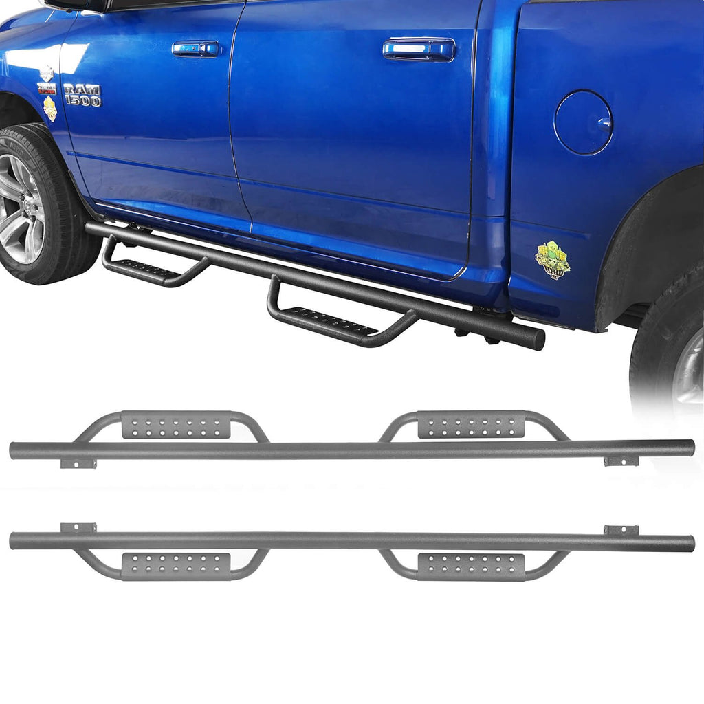 Ultralisk 4x4 Nerf Side Steps Bars( 09-18 Dodge Ram 1500 Crew Cab 4-Door)