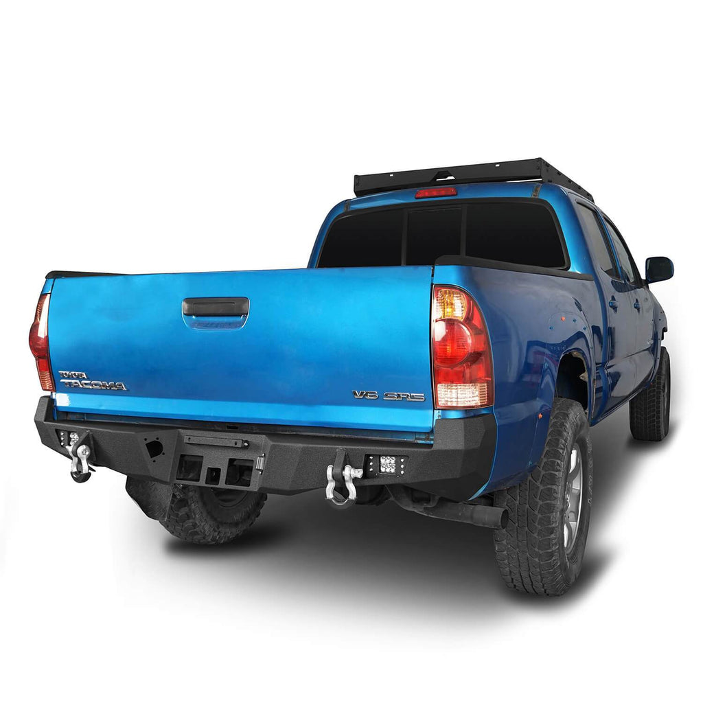 Rear Bumper w/License Plate Mounting Bracket(05-15 Toyota Tacoma)