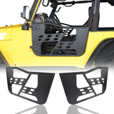 Rock Crawler Tubular Door Guards with Mirrors for 1997-2006 Jeep Wrangler TJ BXG092MMR10016 1
