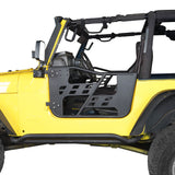Rock Crawler Tubular Door Guards with Mirrors for 1997-2006 Jeep Wrangler TJ BXG092MMR10016  2