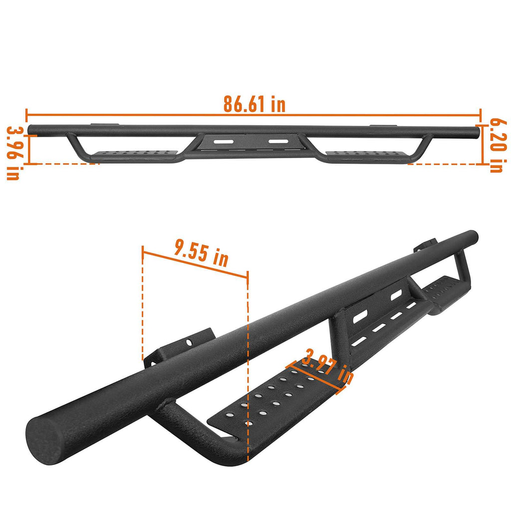 Running Boards Drop Side Steps Bar(09-14 Ford F-150 SuperCrew)