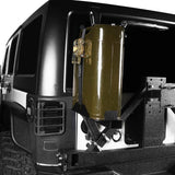 5.3 Gallon Jerry Can Mount Spare Tire Jerry Can Holder for 2007-2018 Jeep Wrangler JK 5