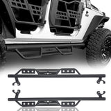 Ultralisk 4x4 4-Door Side Steps Running Boards(07-18 Jeep Wrangler JK)