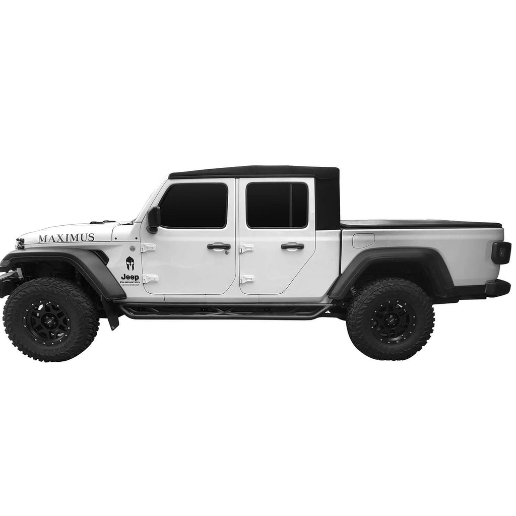 Jeep JT Running Boards Side Steps Nerf Bars for 2020 Jeep Gladiator bxg900 10