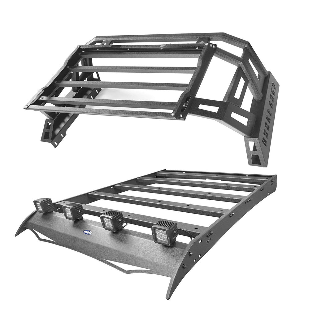 Ultralisk 4x4 Top Roof Rack Luggage Cargo Carrier & Bed Rack(05-21 Toyota Tacoma)