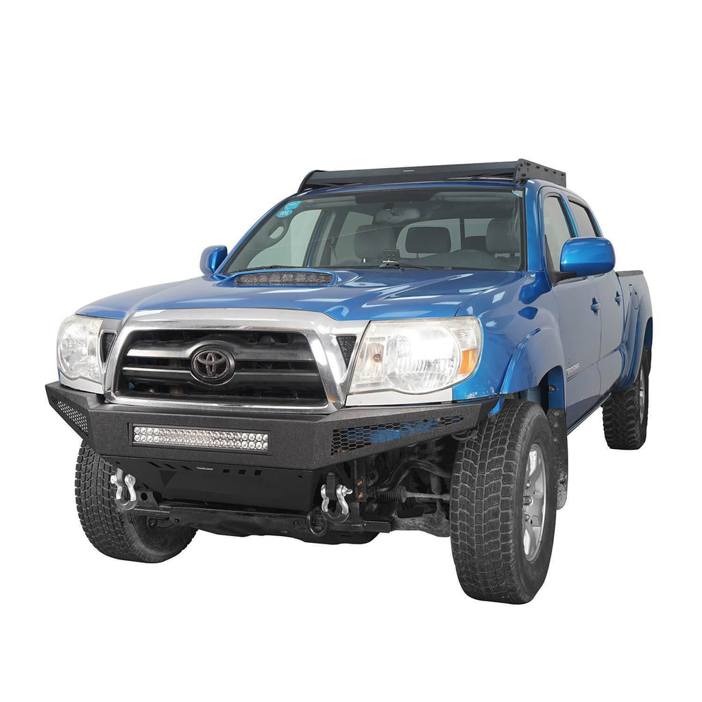 Trucks Toyota Tacoma Full Width Front Bumper with Skid Plate for 2005-2015 Toyota Tacoma BXG410 2