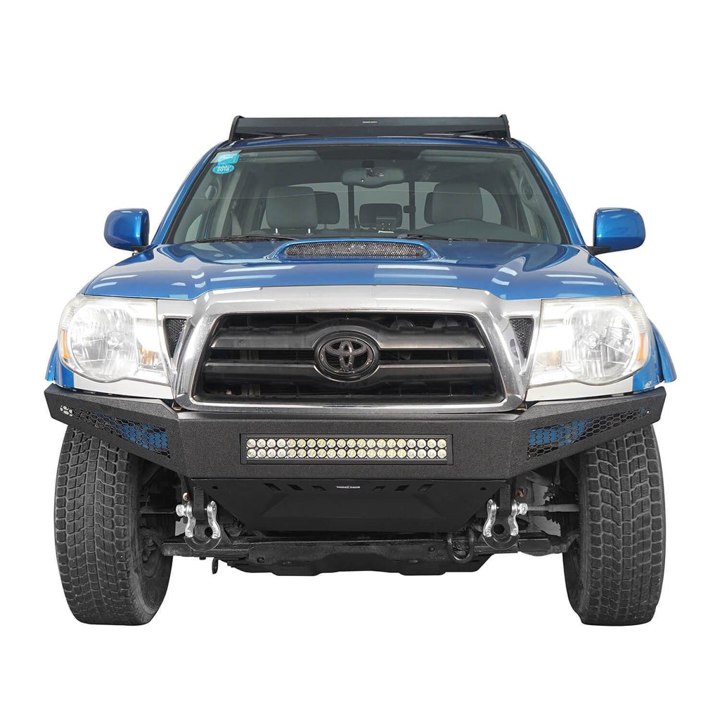 Trucks Toyota Tacoma Full Width Front Bumper with Skid Plate for 2005-2015 Toyota Tacoma BXG410 3