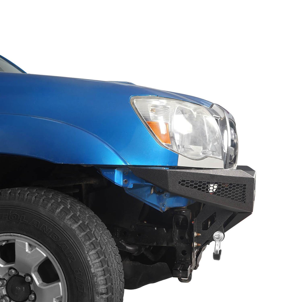 Trucks Toyota Tacoma Full Width Front Bumper with Skid Plate for 2005-2015 Toyota Tacoma BXG410 5