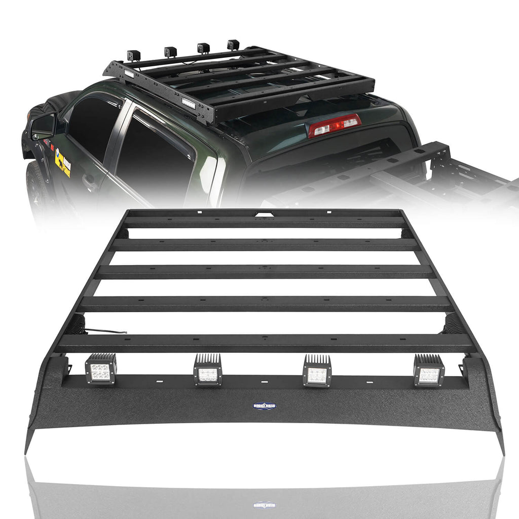 Tundra Crewmax Roof Rack Track Rack for 2007-2013 Toyota Tundra 1