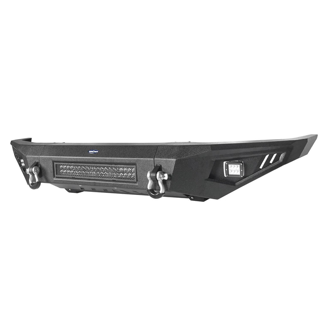 ooke Road Full Width Textured Black Front Bumper for 2014-2019 Toyota Tundra Pickup BXG601   8