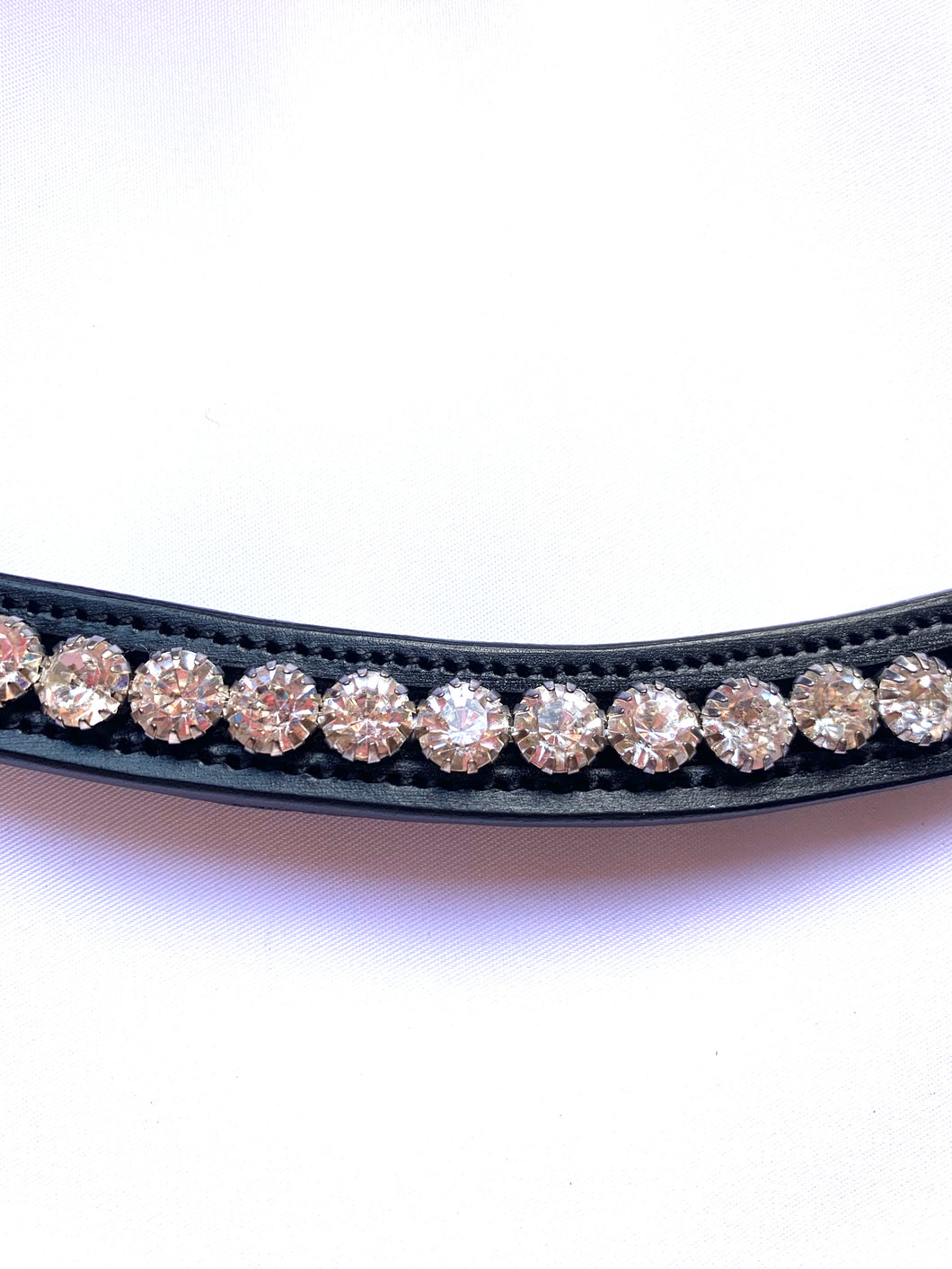 Round crystal brow band