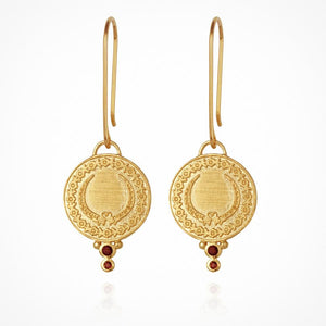 Ariana - Earrings Gold