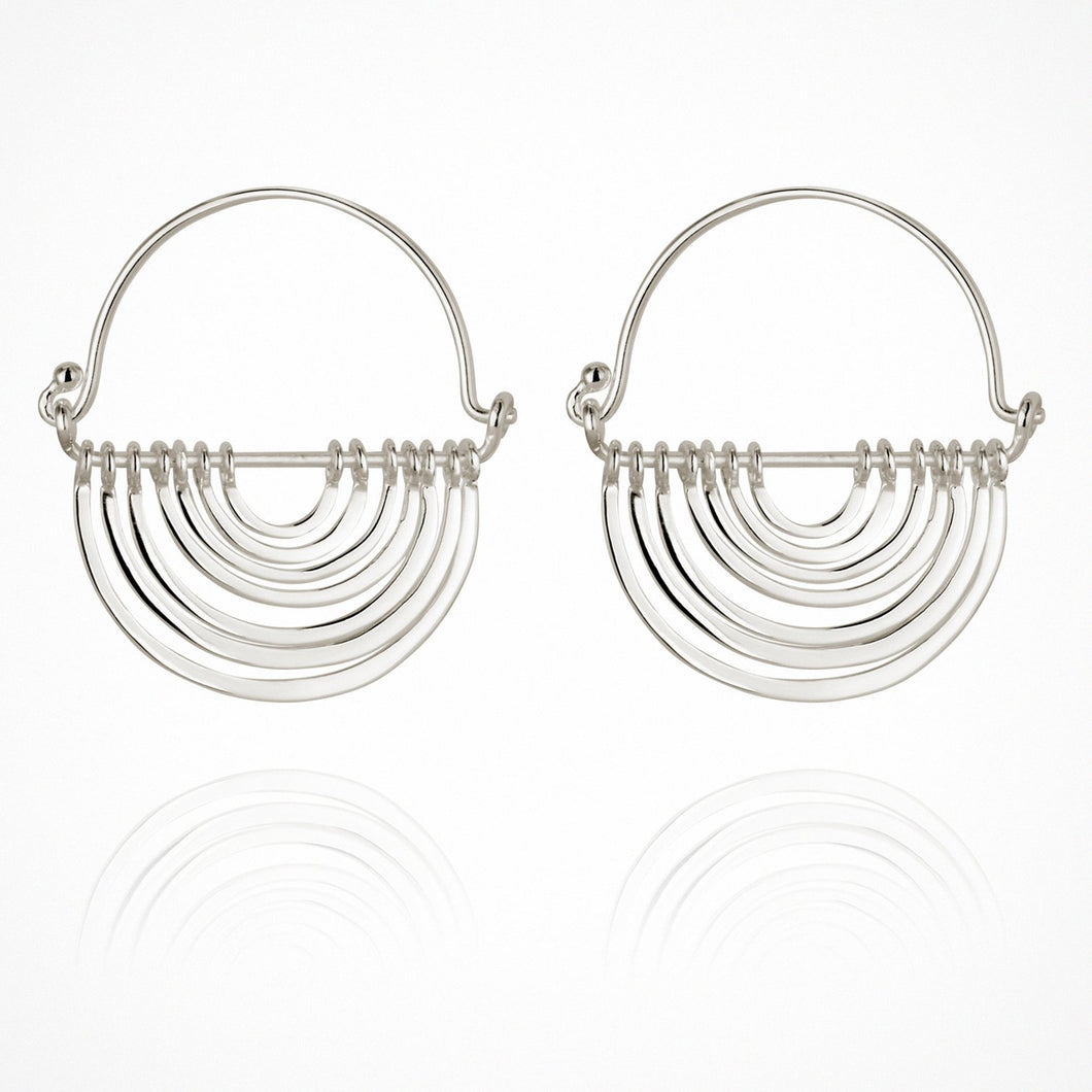 Baye - Earrings Silver