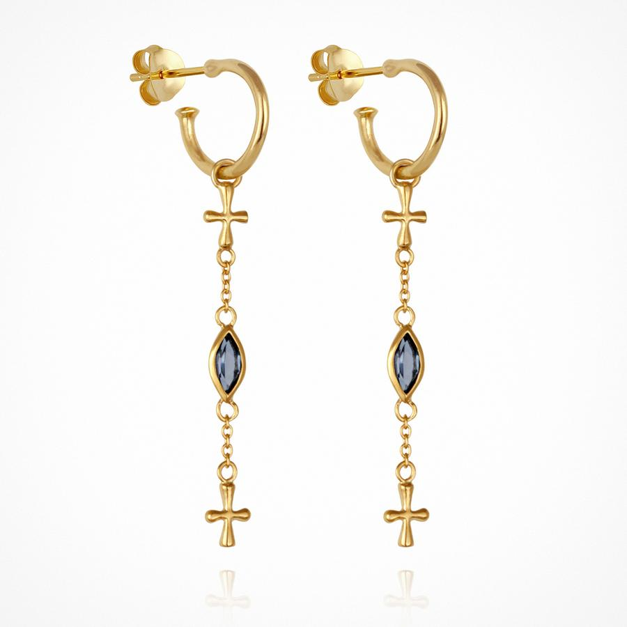 Clara - Earrings Gold