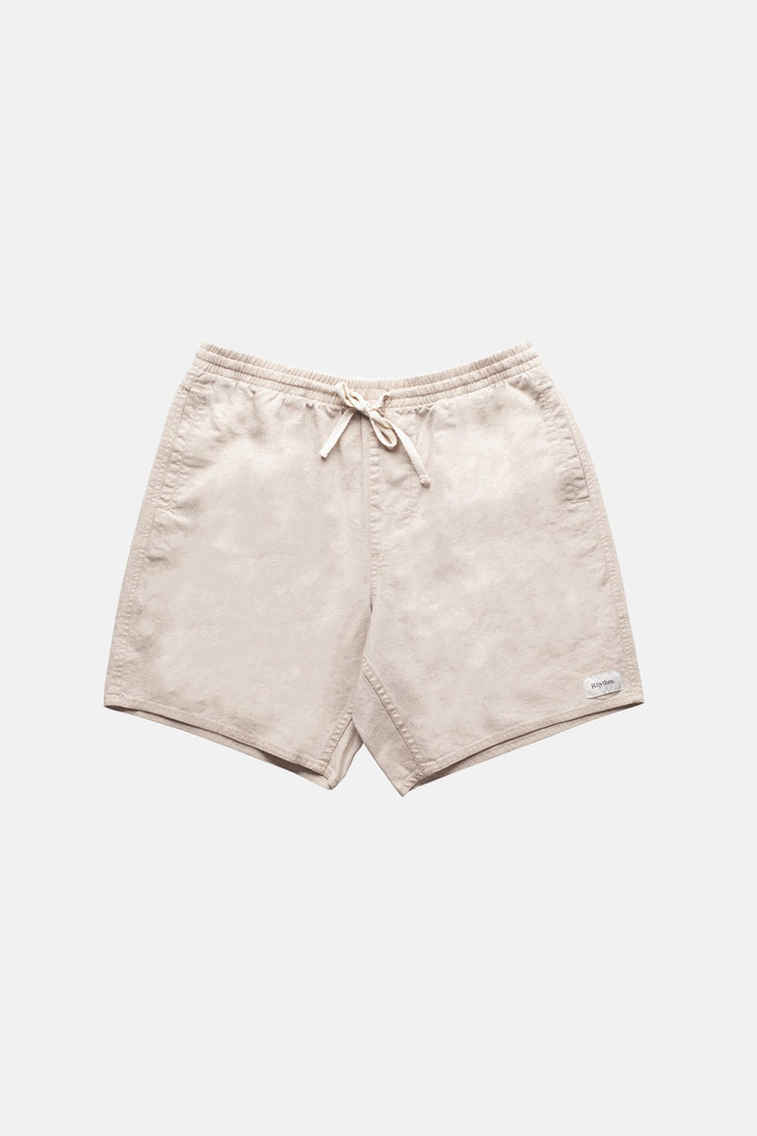 Rhythm - Essential Linen Jam Beach Short Bone