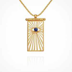 Eye - Necklace Gold