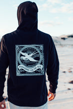 Load image into Gallery viewer, Hoodie Jumper Back. Three Stories Surf Shop