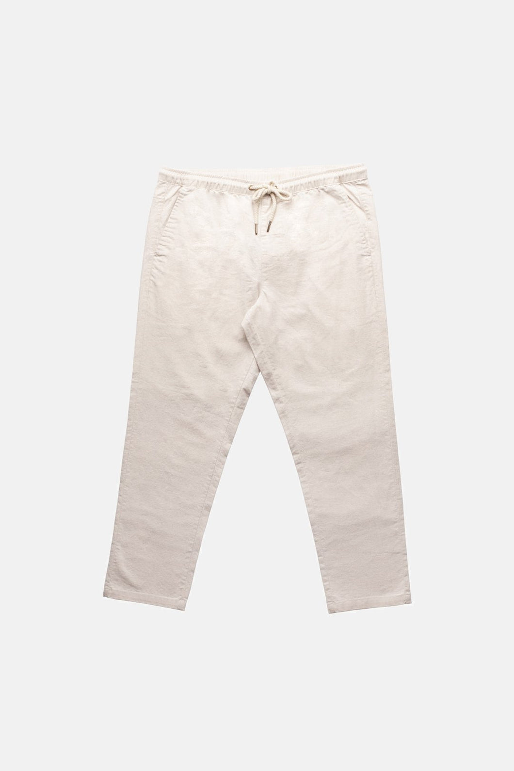 Rhythm linen sunday pant - Bone