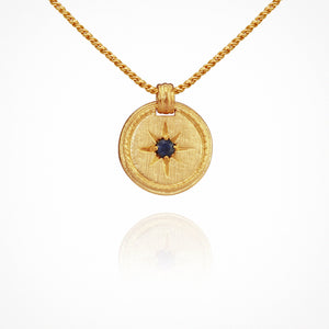 Temple of the Sun - Stella Necklace Gold
