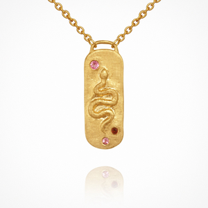 Neri Locket - Necklace Gold