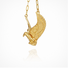 Load image into Gallery viewer, Eagle - Necklace Gold