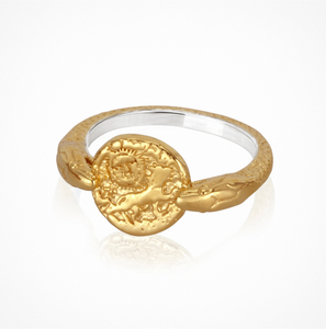Temple of the sun - Aria Ring - Gold
