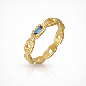 Temple of the sun - Ava Ring - Gold