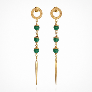 Temple of the Sun - Talia Earrings Gold