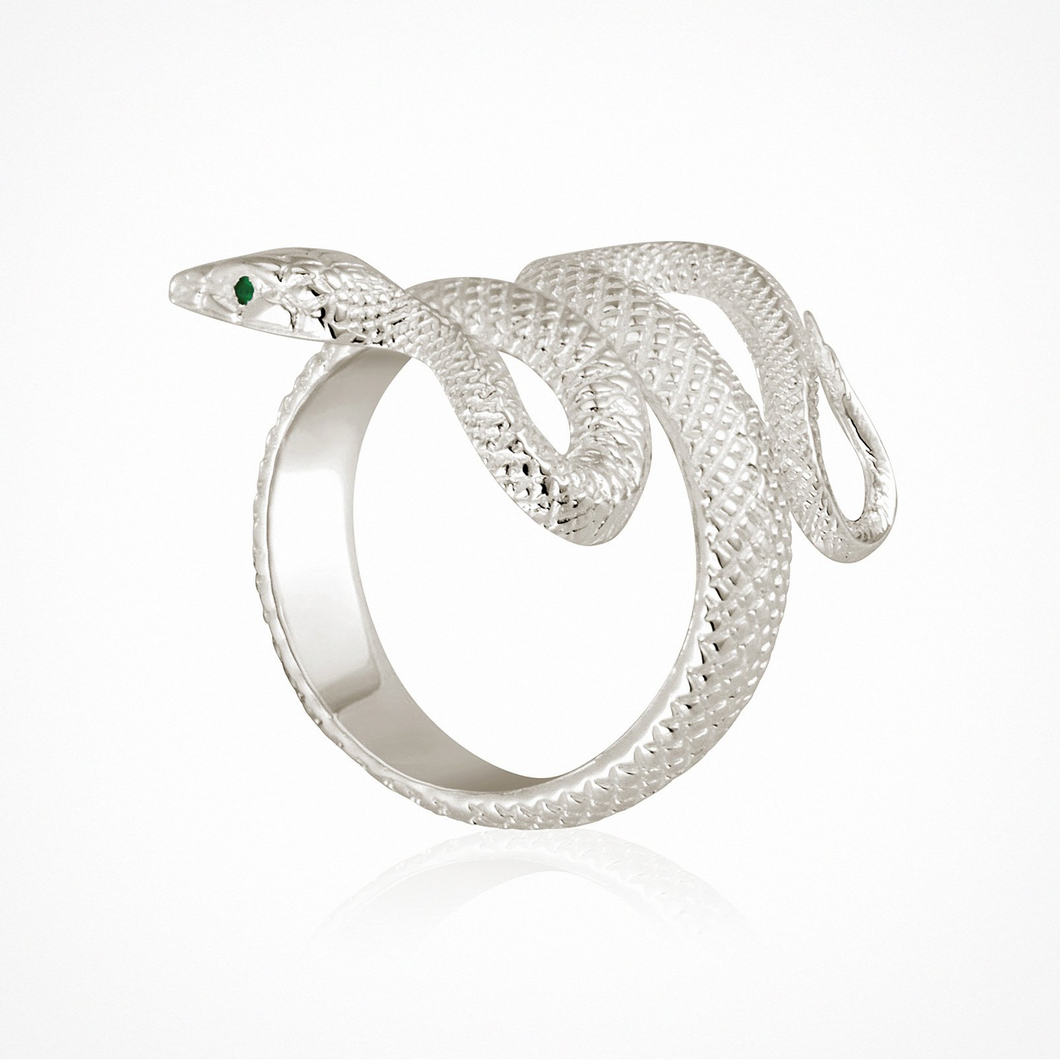 Serpent - Ring Silver