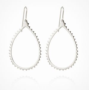 Temple of the Sun - Cassandra Earrings Silver